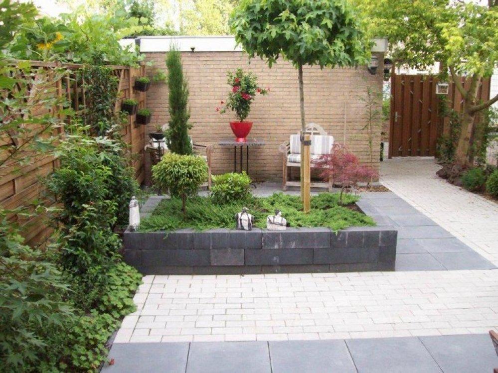 Voorbeeld foto 39 s achtertuin kasbergen hoveniers - Voorbeeld van tuin ...