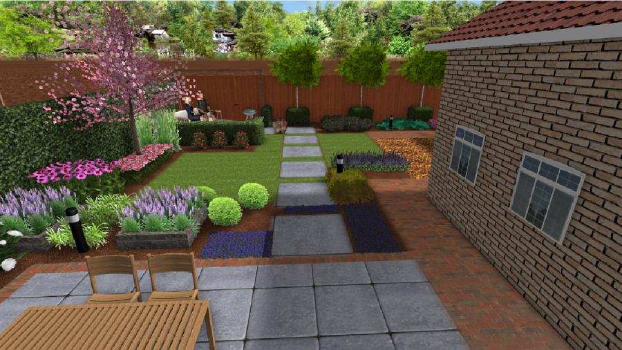 Ontwerp kasbergen hoveniers - Ontwerp van de tuin ...