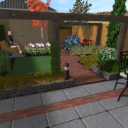 3D Ontwerp tuin